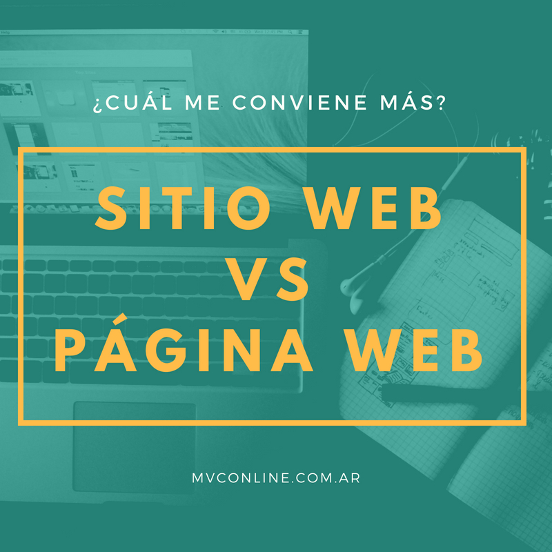 Página Web vs Sitio Web